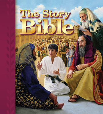 Prechool Family Ministry - Bibles and Bible Storybooks