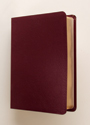 NIV Concordia Self-Study Bible - Burgundy Genuine Leather