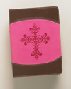 The Lutheran Study Bible - Compact DuoTone Pink/Chocolate