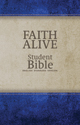 Faith Alive Bible - DuoTone Blue/Tan