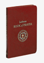 Lutheran Book of Prayer - Burgundy Bonded Leather