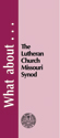 What about The Lutheran Church Missouri Synod? - Tract (pack of 25)
