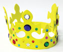 Corona de goma eva con joyas (Jeweled Foam Crown)