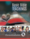 Basic Bible Teachings - Leader Guide - Downloadable