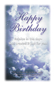 Happy Birthday Postcard (Pack of 25)
