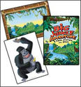 Big Jungle Adventure Huge Decorating Posters (Pack of 3)