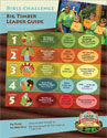 Big Timber Bible Challenge Leader Guide (with CD) - VBS 2015