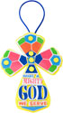 What A Mighty God - Cross Craft (Pack of 12) - VBS 2015
