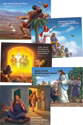Bible Story Posters (5 Unique 22x17) - VBS 2015
