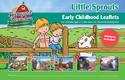 Little Sprouts Early Childhood Leaflets and Stickers  - VBS 2016
