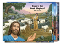 Bible Story Posters (5 Unique 22 x17) - VBS 2016