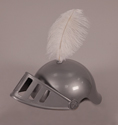 Plastic Soldier Helmet and Feather - VBS 2017