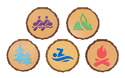 Woodcut Decor (Pack of 25) - VBS 2018