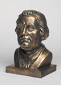 Martin Luther Bust - Bronze