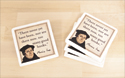 Martin Luther Drink Coasters (Pack of 4)