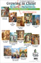 New Testament 4 Bible Story Poster Set - Donation