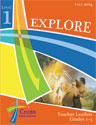 Fall Explore Level 1 (Gr 1-3) Teacher Leaflet - Cross Explorations Sunday School