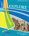 Winter Explore Level 1 (Gr 1-3) Teacher Leaflet - Cross Explorations Sunday School