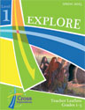 Spring Explore Level 1 (Gr 1-3) Teacher Leaflet - Cross Explorations Sunday School