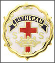 Cross and Crown Award System - 1 Year Gold Tone (Lutheran)