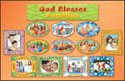 God Blesses Families Bulletin Board