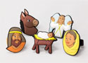 Jesus is Born Finger Puppet Set