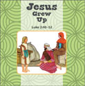 Jesus Grows Up/Jesus Calms the Storm Flip Book