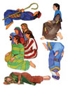 One in Christ Bible Story Figures - Downloadable