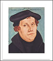 "Martin Luther Poster, 14"" x 18"""