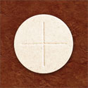 White Celebrant Communion Wafers 2-3/4