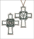 Luther Rose Pectoral Cross