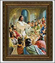 Framed Print - Last Supper (Copeland)