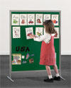 "Child-Size Loop Fabric Display Panel, 40"" x 48"""
