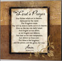 The Lord's Prayer Canvas Wrap 12 x 12