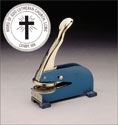 Church Seal Desk Press with Cross