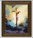 Framed Print - The Atoning Sacrifice