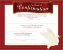 Confirmation Certificate (Pkg of 12)