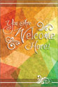 Welcome Folder: You Are Welcome Here (Pack of 12)
