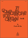Eleven Compositions for Organ, Set III