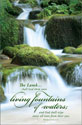 Standard Funeral Bulletin: Living fountains