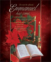 Premium Christmas Bulletin: Emmanuel Has Come