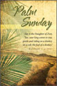 Standard Palm Sunday Bulletin: Daughter of Zion