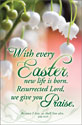 Standard Easter Bulletin: With Every Easter, New Life Is Born