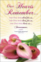 Standard Easter Bulletin: Our Hearts Remember