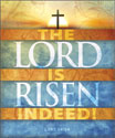 Premium Easter Bulletin: Lord Is Risen