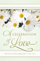 Standard Wedding Bulletin: A Celebration of Love