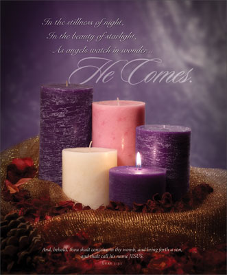 Advent Bulletin: He Comes