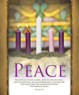 Advent Bulletin: Peace