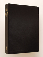 NIV Concordia Self-Study Bible - Black Genuine Leather - Indexed