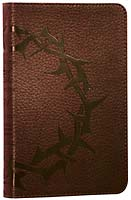 ESV Deluxe Compact Bible - Crown of Thorns (brown)